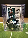Philadelphia Eagles NFL Helmet Shadowbox w/Carson