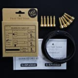 Free The Tone Pedal Board Solderless Cable Kit 10 Gold Plugs 5S/5L 3M/9.8ft
