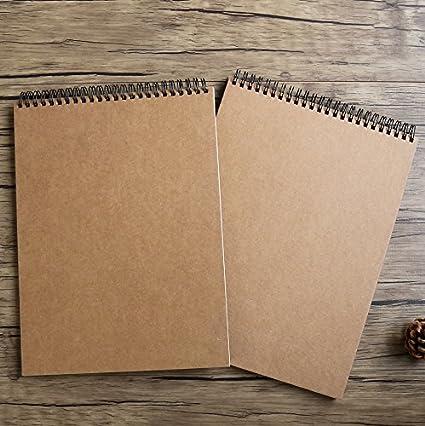 GN&LM A4 en blanco cuaderno de bocetos, Sketchbook pintar ...