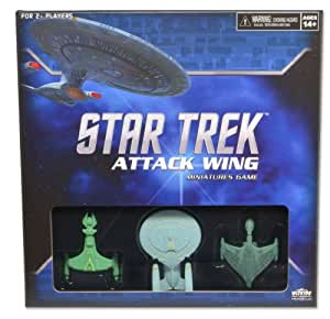 Star Trek Attack Wing Miniatures Game Starter