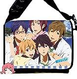 YOYOSHome Anime Free! Eternal Summer Cosplay Backpack Messenger Bag Shoulder Bag (Free7)