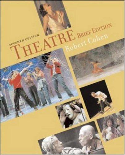 Theatre Brief w/ Enjoy the Play (Theatre (Brief Edition)) (Theatre Brief Robert Cohen)