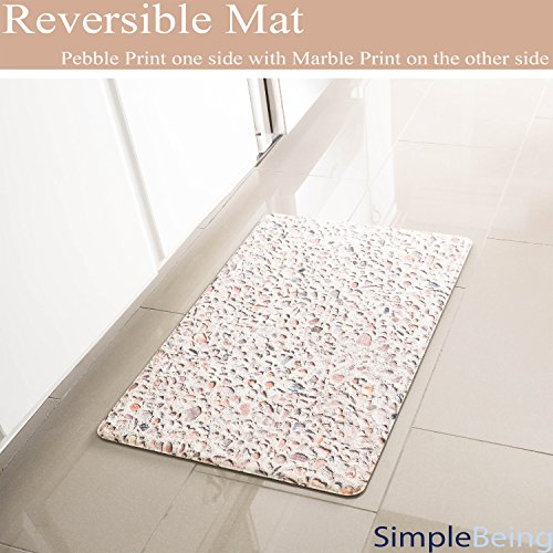 Simple Being Anti Fatigue Kitchen Floor Mat, Comfort Heavy Duty Standing Mats, Ergonomic Non-Toxic Waterproof PVC Non Slip Washable For Indoor Outdoor by Simple Being (Image #4)