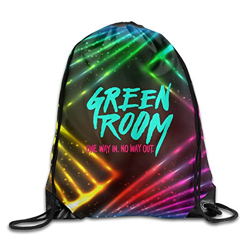 YYHU Green Room Sackpack Rucksack Shoulder Bags Sport Gym Bag - Great For Travel And Everyday (Three Fates Halloween Costume)