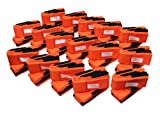 Forearm Forklift Lifting and Moving Straps, 16-Pack, Model L74995CN16