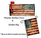 Wamika Vintage American Flag US Stars and Red