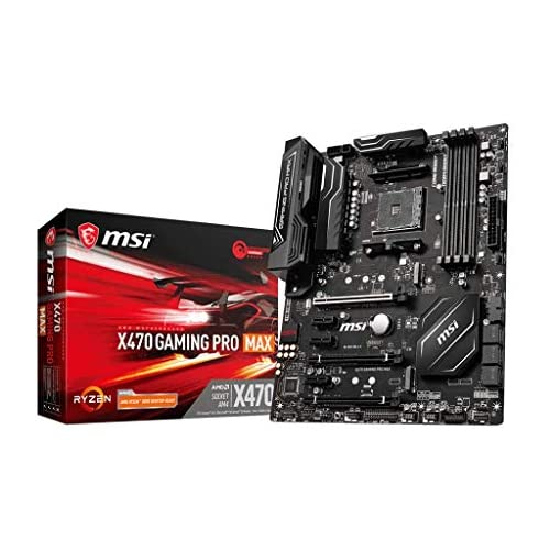 chollos oferta descuentos barato MSI X470 Gaming Pro MAX Socket AM4 x470 DDR4 S ATA 600 ATX Interno Unidad de Disco óptico