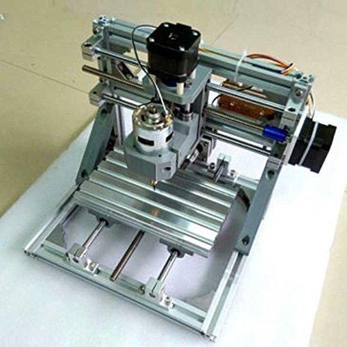 ELEOPTION Update Mini DIY 3 Axis Engraver Machine Milling Wood Carving Engraving Kit (Engraving Machine With Laser Head) by Eleoption