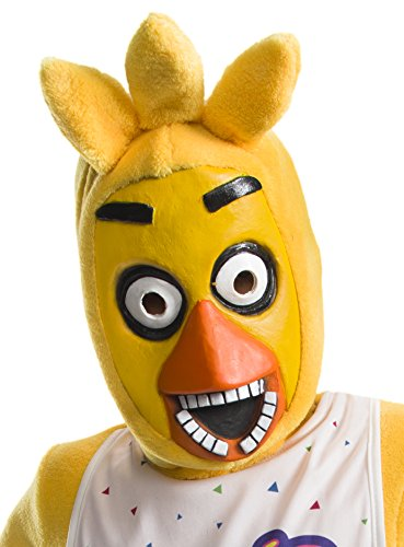 Rubie's Costume Boys Five Nights At Freddy's Chica The Chicken 3/4 Mask Costume, One Size -  Morris Costumes, RU33933