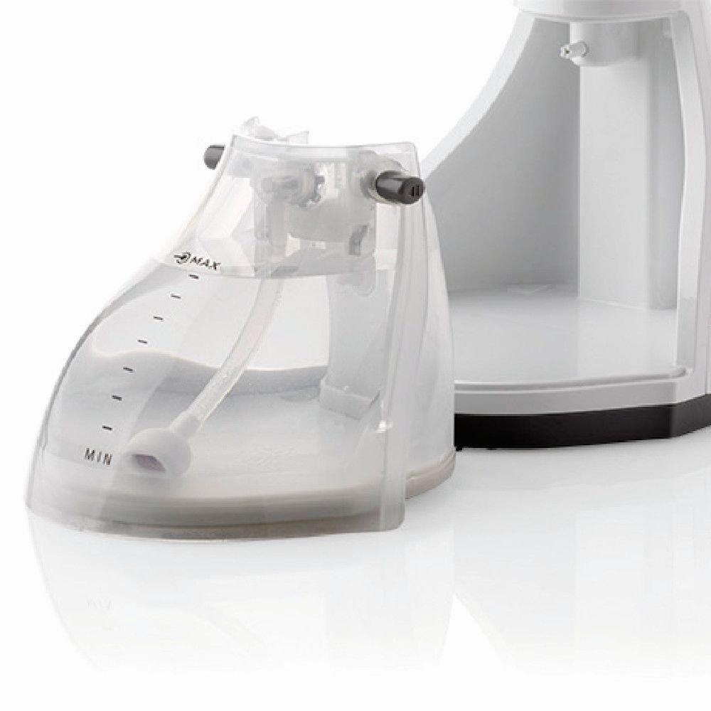 Ariete 1200 Cepillo de vapor de mano 1200 W, 0.26 litros, Acero Inoxidable, Blanco: Amazon.es: Hogar