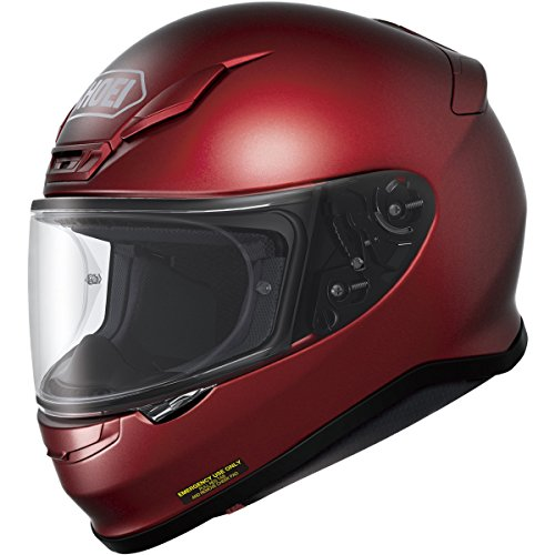 Proprietary Wine Red Red (Shoei RF-1200 Helmet (MEDIUM) (WINE RED))