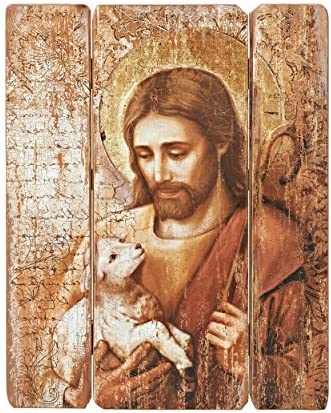Joseph s Studio by Roman – Collection, 26 H Jesus Decorative Panel, Made from Resin, High Level of Craftsmanship and Attention to Detail, Durable and Long Lasting