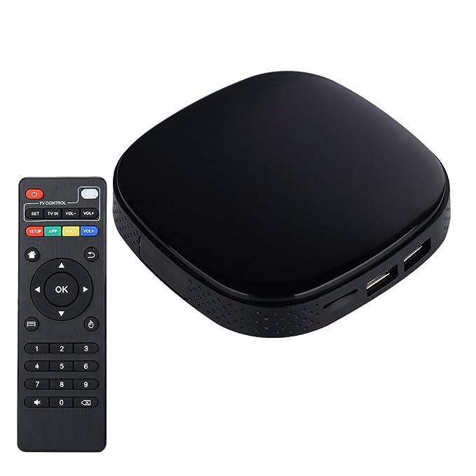 Anyang TV Box Android 5.1 / 6.01 para HDMI HD TV Media Streamer Reproductor de red Smart Wifi IPTV Caja Set-top 4K 10-bit H.264 / H.265: Amazon.es: ...