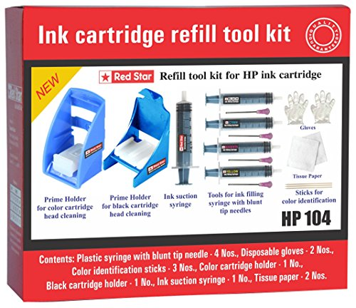 Red Star ink cartridge refill tool kit for hp 65 63 62 61 60 ink cartridge