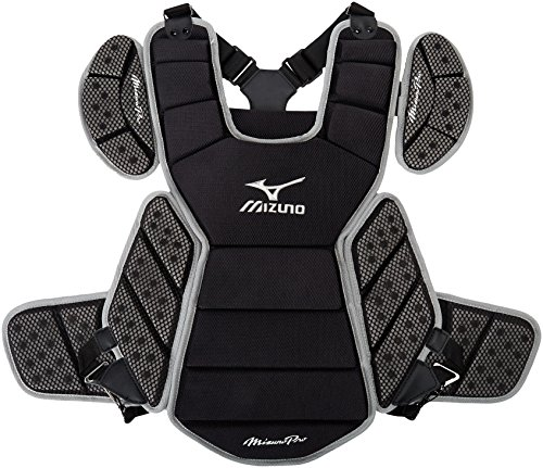 - Mizuno Pro Chest Protector one-Size Black-Grey