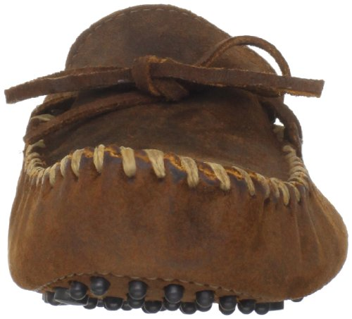Minnetonka Mocassino da uomo Marrone (Braun, (Brown Ruff))