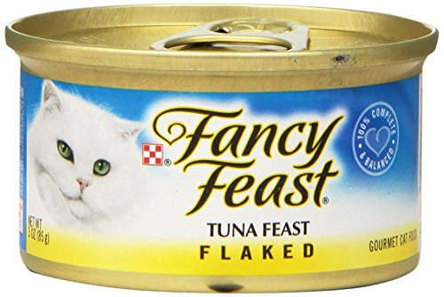 Purina Fancy Feast Flaked Tuna Feast Cat Food - (24) 3 oz. Pull-top Can