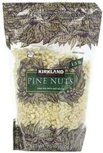 Kirkland Raw Pine Nuts, 24-Ounce