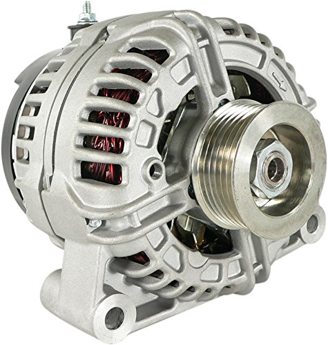 DB Electrical ABO0355 New Alternator For Chevy Gmc 4.3L 4.3 4.8L 4.8 5.3L 5.3 6.0L 6.0 6.2L 6.2 6.6L 6.6 07 08 09 10 11 2007 2008 2009 2010 2011 0-124-425-035 0-124-425-105 22817848 11234