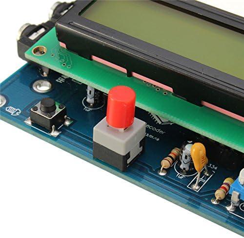 Verde Lector de c/ódigo Morse Decodificador CW Traductor de c/ódigo Morse Ham Radio Accesorio Esencial Producto Duradero