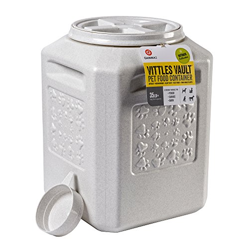 - Vittles Vault Outback 35 lb Airtight Pet Food Storage Container