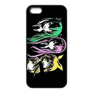 iPhone 4 4s Phone case Black vocaloid KKSD6374374