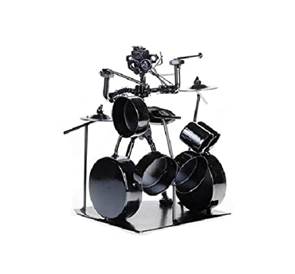 American music drummer figure sculpture statue home decorations birthday gift!