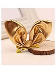 Girl Headwear Ear Hair Clips Kids Hairpins Baby Headdress Hair Accessories Color:Gold