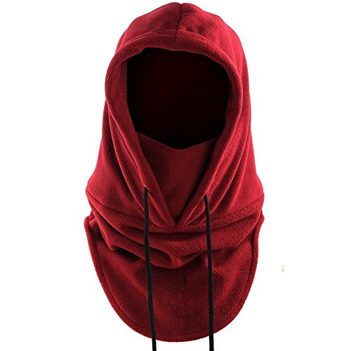 Outdoor sports trainers4me jollygift windproof hat tactical heavyweight balaclava outdoor sports mask unisex wine red fandeluxe Image collections