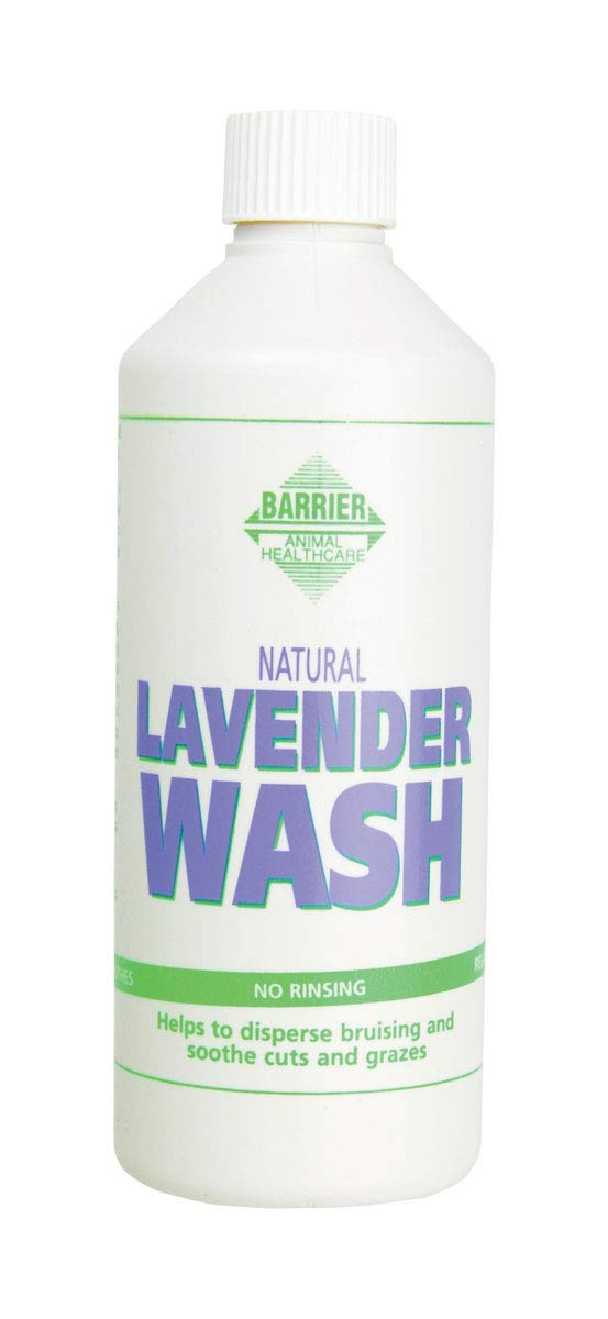 Barrier Unisex Lavender Wash Bottle, White, 500ml by Trilanco