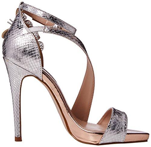 Miss KG Women's Giselle Open-Toe Heels Silver (Metal Comb) largest supplier sale online sneakernews online cheap sale ebay y4d5rzc