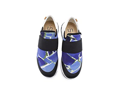 Men's Memory Pieces Comfort Casual Lycra Slip-On Shoes Blue