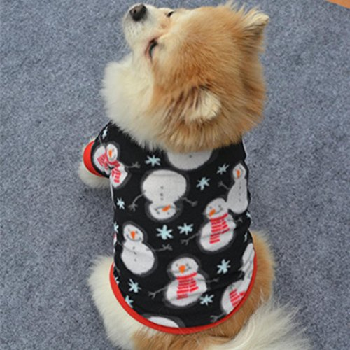 ee8d5dbc31dd Christmas Puppy Warm Clothes,Hemlock Winter Pets Pullover Coat Soft ...