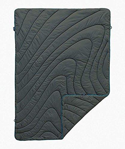 Rumpl The Original Puffy Blanket, Charcoal Grey, Throw