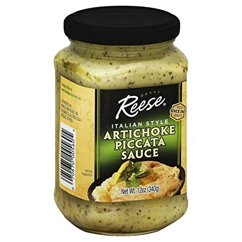 REESE, SAUCE, PICCATA, ARTICHOKE, Pack of 6, Size 12 OZ - No Artificial Ingredients Low Sodium