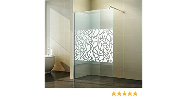 Walk in Mampara | Diseño de scherben | Espejo | ducha pared ...