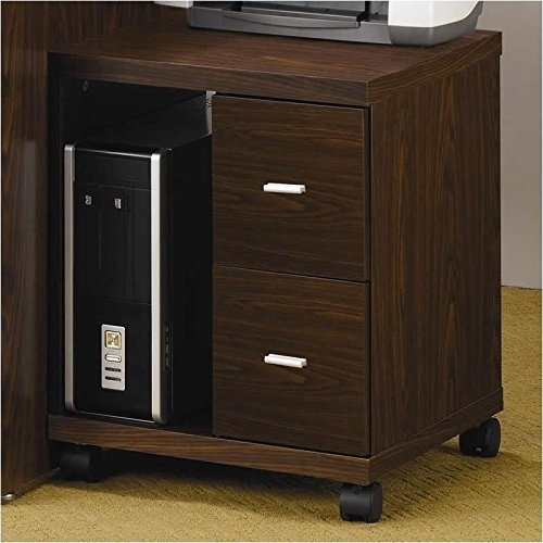 Coaster Home Furnishings 800832 Contemporary File Cabinet, Oak