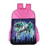 Best Walmart Cool Backpacks - Running Horse Girls Casual Lightweight Backpacks Bag Shoulder Review