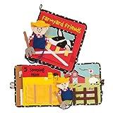 Manhattan Toy Farmyard Friends Soft Activity Book, Baby & Kids Zone