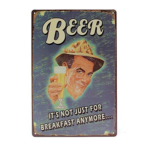 Wall Art - Beer Tin Sign Vintage Metal Plaque P Bar for sale  Delivered anywhere in USA