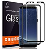 MP-MALL Screen Protector for Samsung Galaxy S8 Plus, [Tempered Glass] [Full Cover] [Alignment Frame Easy Installation] with Lifetime Replacement Warranty