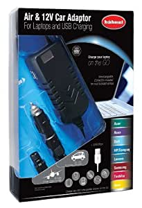 Hahnel Car and Air Power Adaptor with 12V Car and Empower Airline Plugs by Hahnel