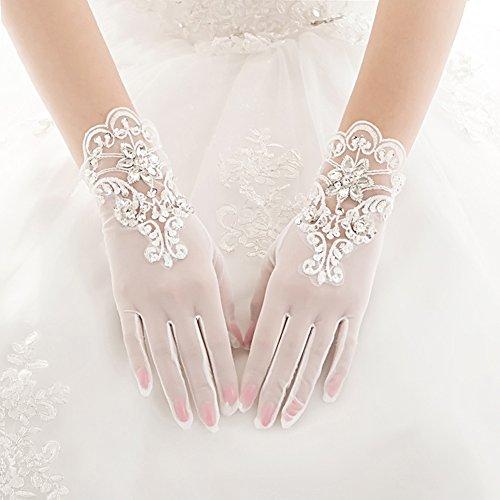 優しさ農学シンプルさ[FERE8890] レディース 手袋 ウェディング グローブ ブライダル手袋 ブライダルグローブ ネイル手袋 美しい 花嫁 フォーマル ファション小物 ストレッチ ドレスアップ ショート 薄い