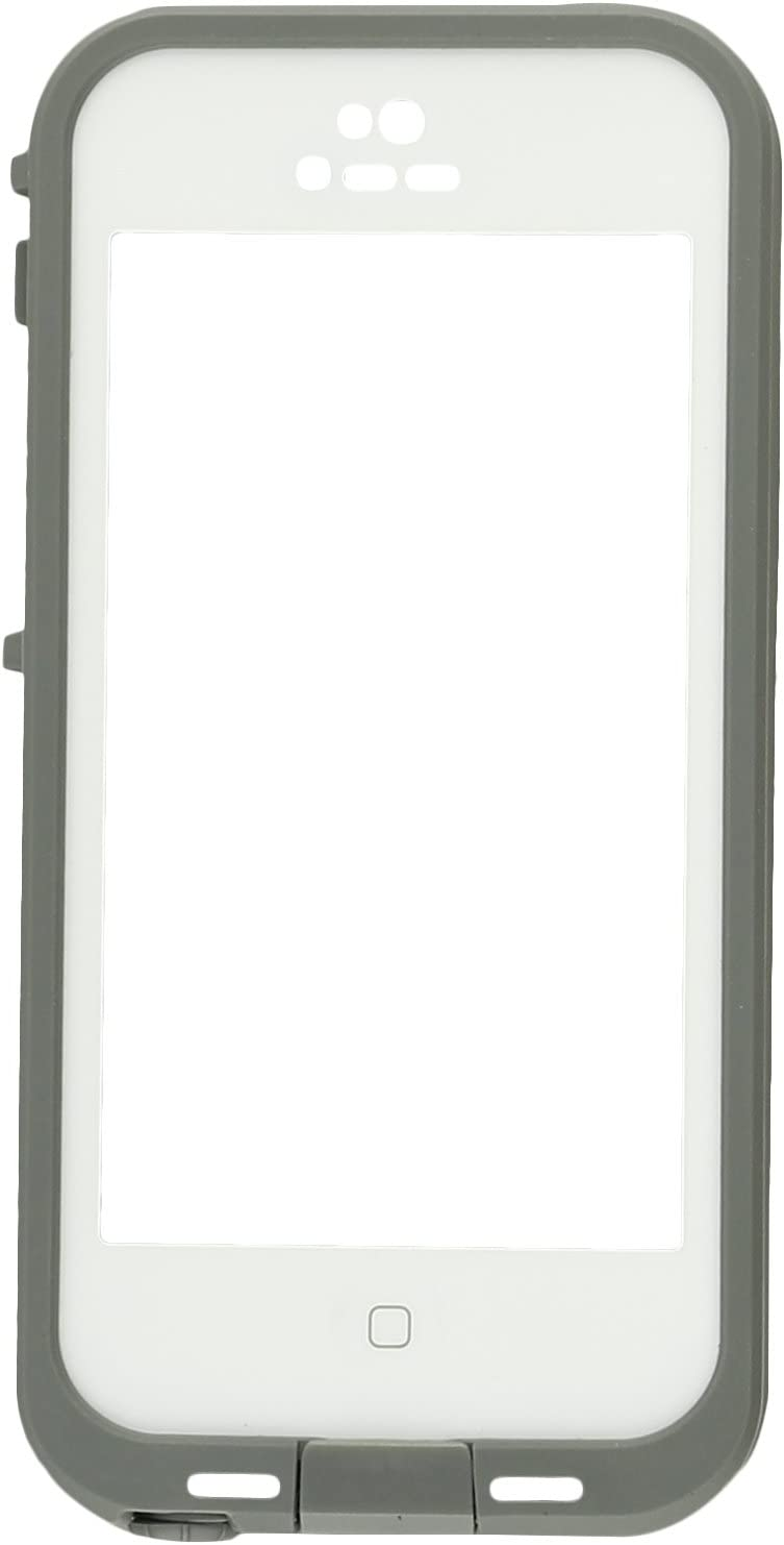 LifeProof FRĒ iPhone 5c Waterproof Case - Retail Packaging - WHITE/CLEAR