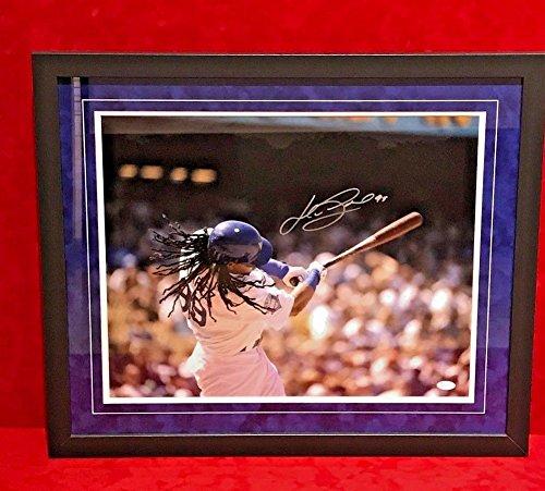 Manny Ramirez Signed Autograph Framed 16x20 Photo With JSA Certified La Dodgers