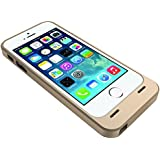 UNU Power DX 2300mAh External Protective Battery Case iPhone 5 - Retail Packaging - Gold