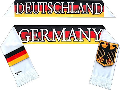 Perfect Hat Trick Official Germany Flag Scarf - Die Mannschaft by Perfect Hat Trick