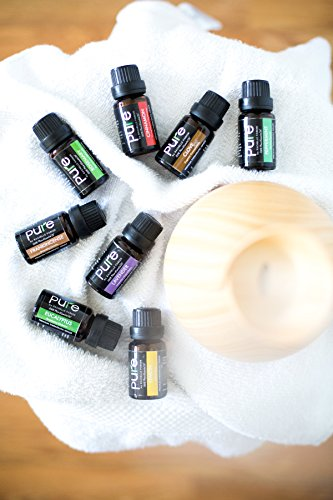 Rachelle Parker Top 8 Essential oils. Aromatherapy Gift Set includes Frankincense, Rosemary, Lavender,Cinnamon, Clove,Peppermint, Eucalyptus & Lemon BEST GIFT!