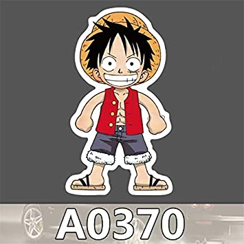 6b51154f3 GADGETS WRAP A0370 Spoof Anime One Piece Monkey D Luffy Cool Sticker for  Car Laptop Luggage