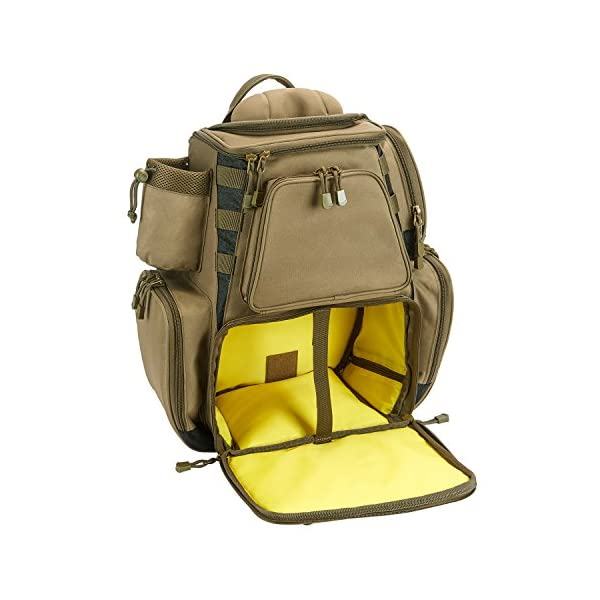 Piscifun Fishing Backpack with Protective Rain Cover